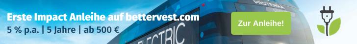 Erste Impact Anleihe auf bettervest.com | 5% p.a. | 5 Jahre | ab 500 €